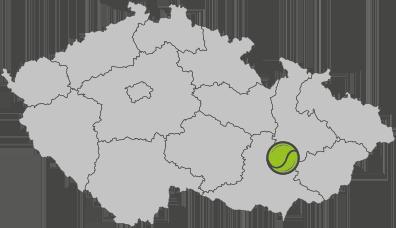 Tenisový klub Vyškov - mapa